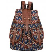 BP525 - American style casual canvas ladies backpack