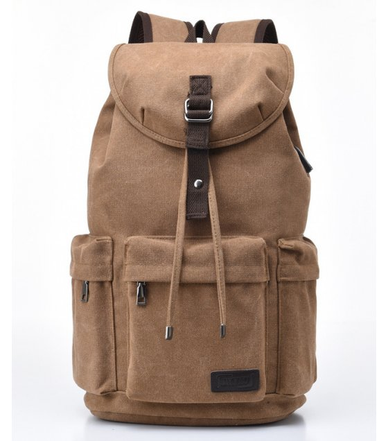 BP578 - Canvas Outdoor Travel Backpack