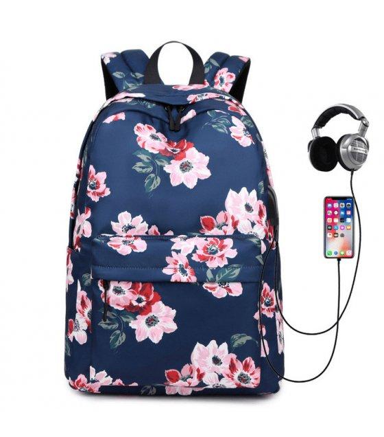 BP586 - Retro Women's Floral Bag