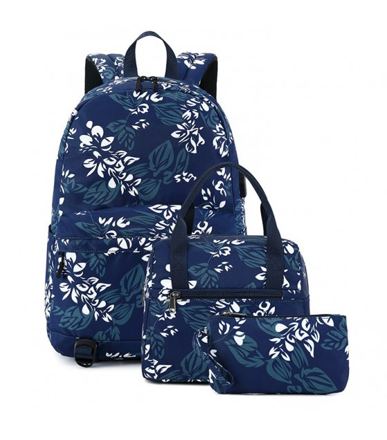 BP631 - Three-piece backpack Oxford cloth Backpack