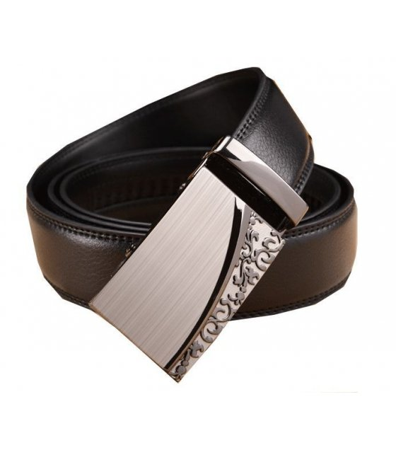BLT057 - Black Designer Mens Belt