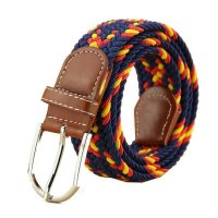 BLT097 -  Knit Elastic Buckle Belt