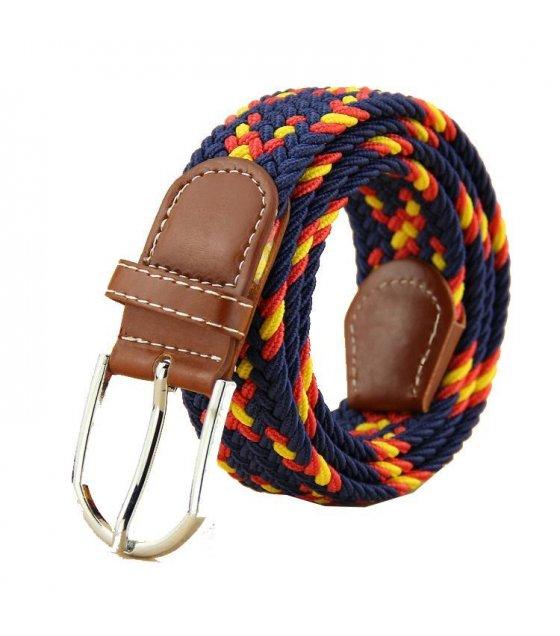 BLT097 -  Knit Elastic Buckle Belt