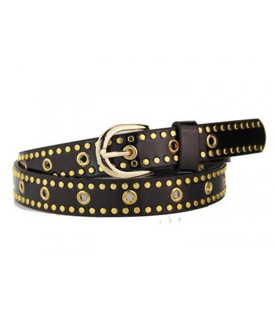 BLT102 - Brown Ladies Fashion Belt