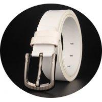 BLT173 - White Pu Leather Belt