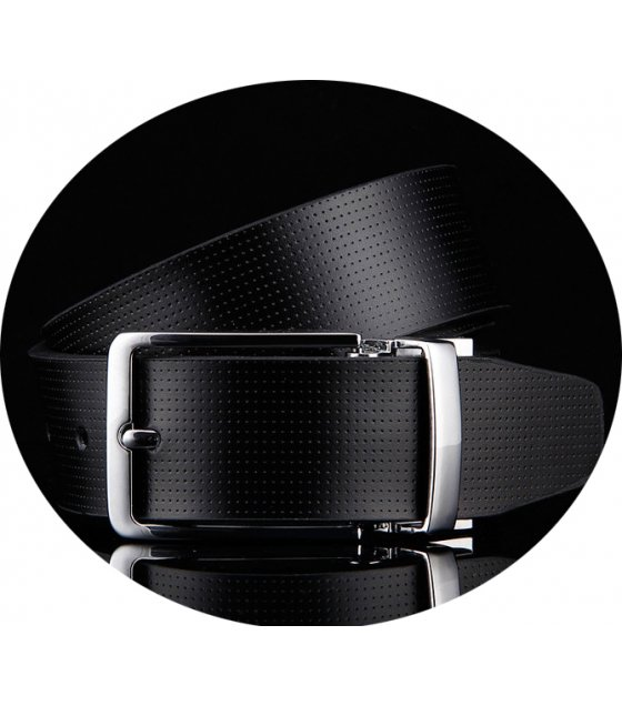 BLT180 - Buckle belt men double-sided leather