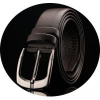 BLT184 - Microfiber pin buckle belt