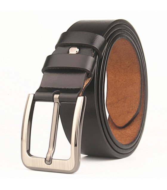 BLT199 - Men's antique leather pin buckle belt