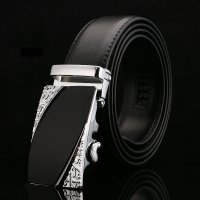 BLT208 - Two-layer leather automatic buckle belt