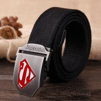 BLT216 - Superhero Canvas Belt