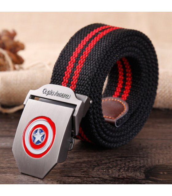 BLT217 - Superhero Canvas Belt