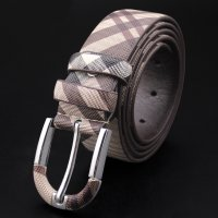 BLT219 - Korean Checked Belt