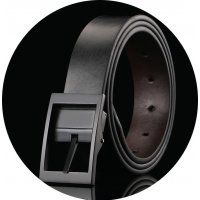 BLT222 - Two-layer leather fashion casual belt