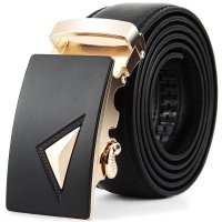 BLT241 - Black Fashion Buckle Belt