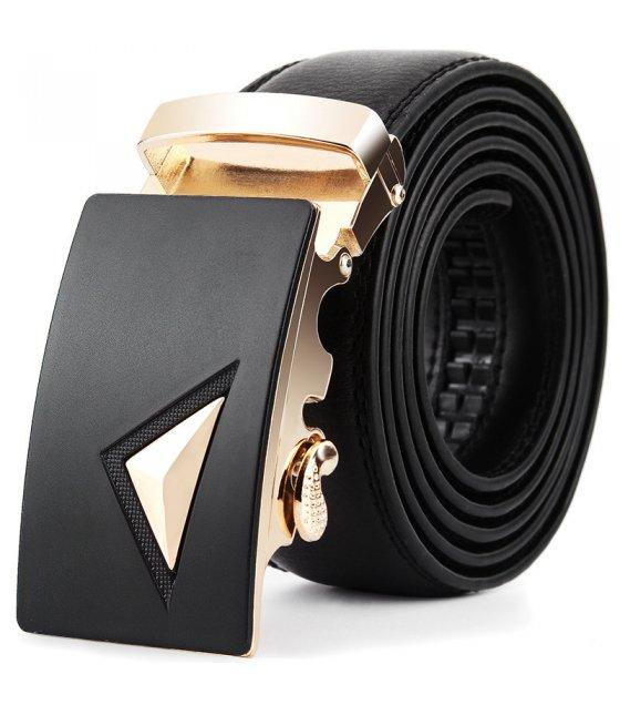 BLT241 - Black Fashion Buckle Belt