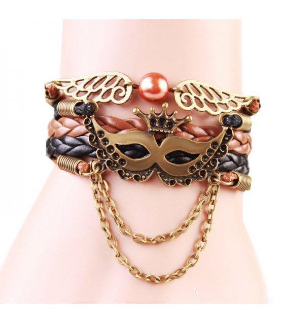 B160 - Retro Mask Bracelet