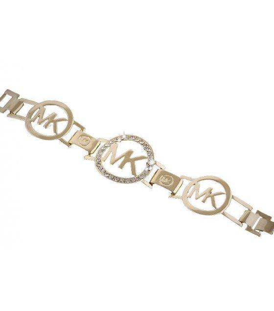 B282 -  MK Gold diamond bracelets
