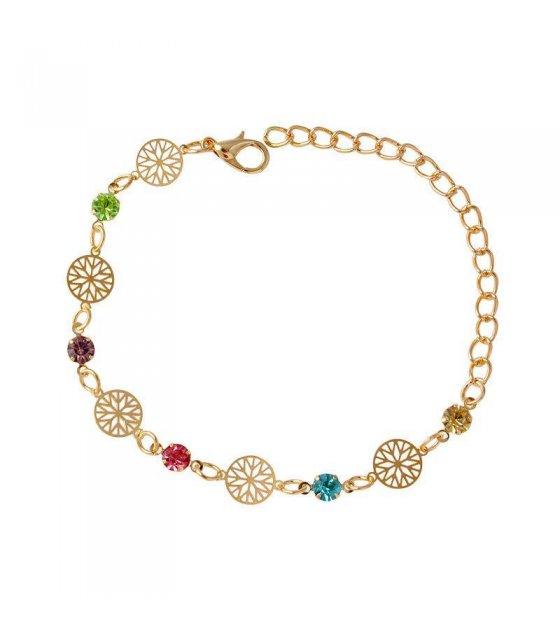 B294 - Colorful Droplet Bracelet