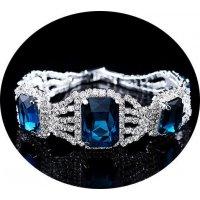 B343 - Exquisite Rhinestone Bracelet