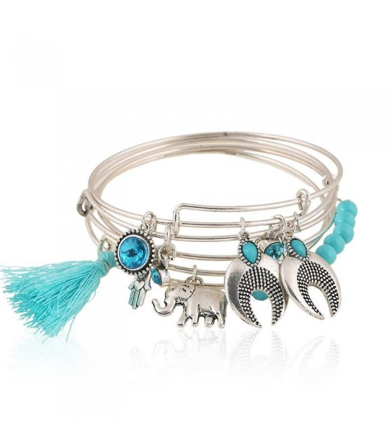 B345 - Blue Turquoise Bracelet