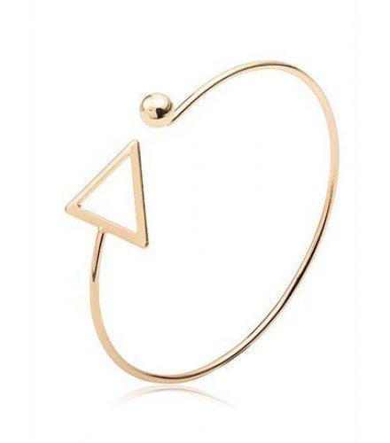 B351 - Style triangular hollow opening bracelet