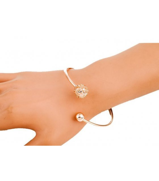 B354 -  Simple Open Classic Bracelet
