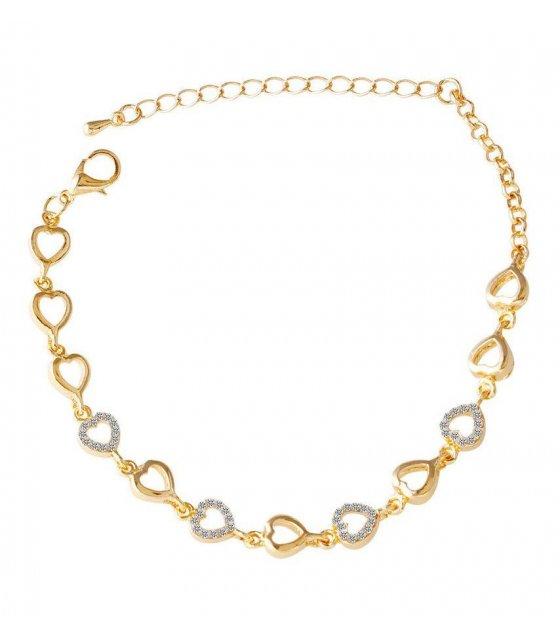 B388 - Elegant Heart Bracelet