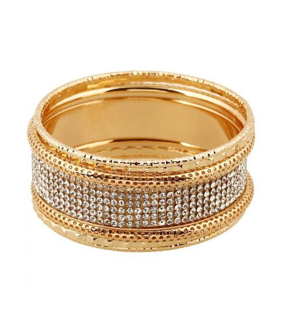 B392 - Elegant sixrow diamond bracelet