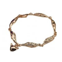 B448 - Gold Fox Chain Bracelet