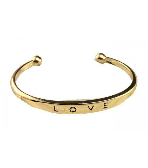 B471 - Gold LOVE Bracelet