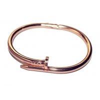 B481 - Rose Gold Nail Bracelet