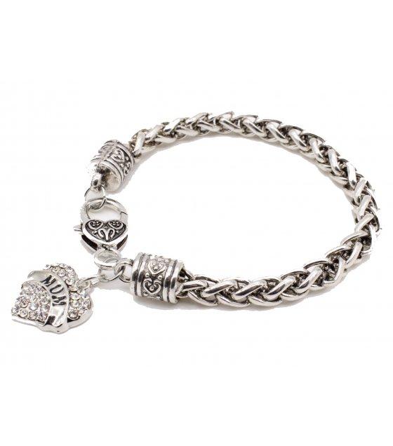 B529 - Retro diamond Bracelet