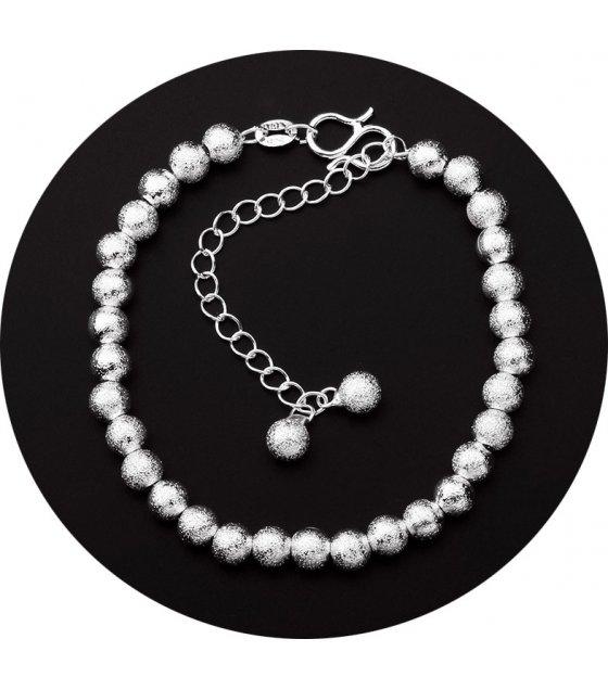 B539 - Simple geometri temperament ball bracelet