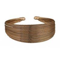 B542 - Iron wire whit metal bracelet