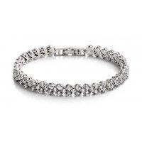 B565 - Zircon crystal bracelet
