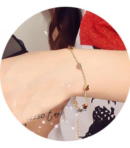 B573 - Fashion Pentacle Heart Bracelet