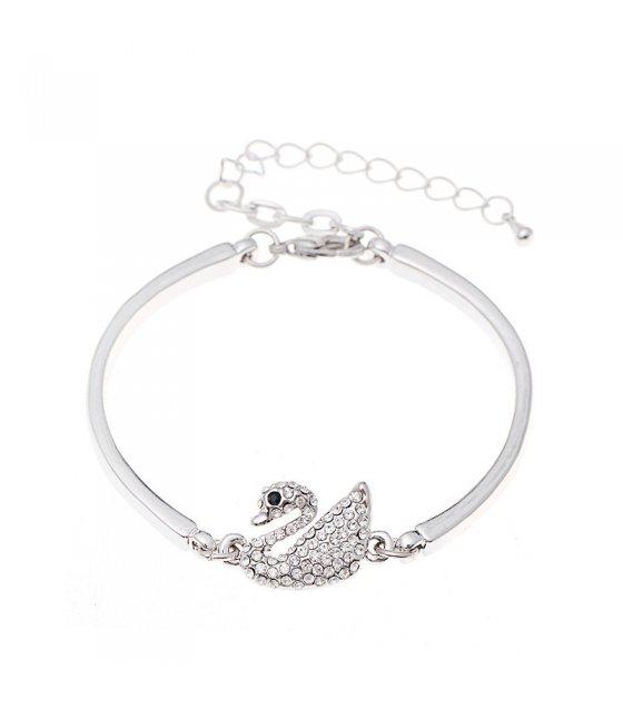 B587 - Elegant swan Bracelet
