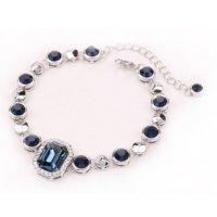 B598 - Gemstone Crystal Bracelet