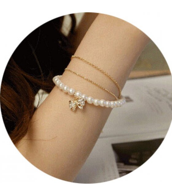 B603 - Three-layer Korean bracelet