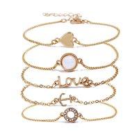 B609 - Creative love bracelet set