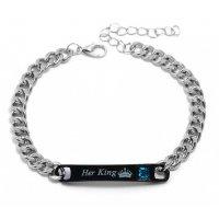 B616 - Simple Letter Bracelet