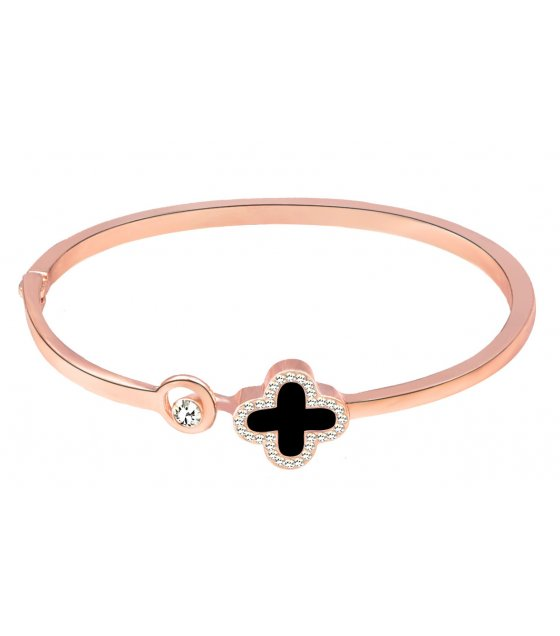 B620 - Four-leaf clover bracelet