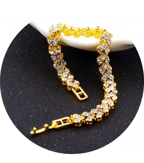 B645 - Roman crystal bracelet