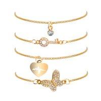 B671 - Butterfly Bracelet Set