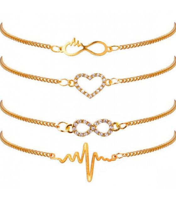 B676 - Eternal symbol bracelet