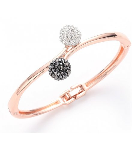 B678 - Korean Double Gemstone Bracelet
