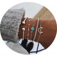 B686 - Turquoise simple bracelet