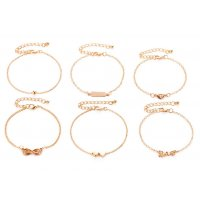 B696 - Exotic Love Six-character Bracelet Set