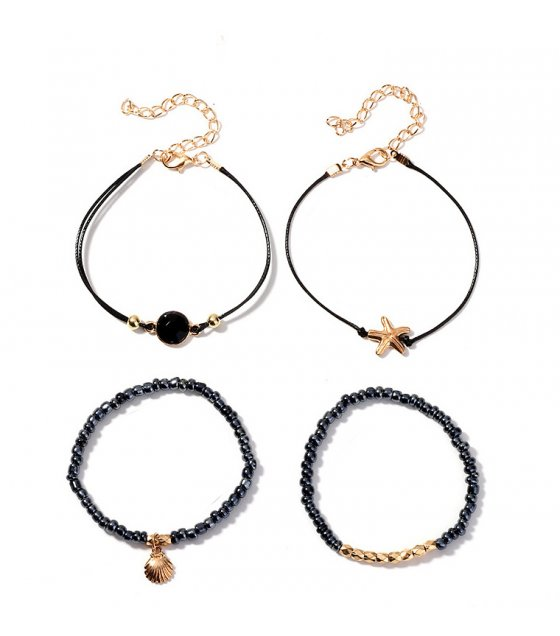B702 - Starfish Round Bracelet