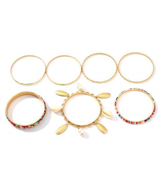 B756 - Elegant Multilayered Bracelet Set